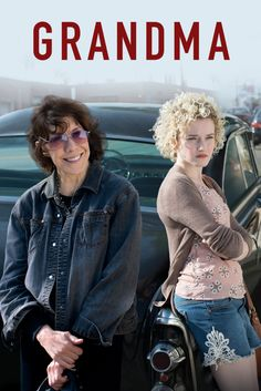 Grandma | 2015| Comedy, Drama | A self-described misanthrope Elle Reid (Tomlin) has her protective bubble burst when her 18-year-old granddaughter, Sage, shows up needing help. The two of them go on a day-long journey. Starring Lily Tomlin, Judy Greer Julia Garner, Robert C. Miranda, and John Cho