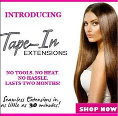 Be Glam with your Glam Seamless Extensions!
