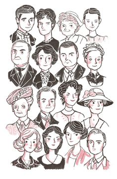 Downton Abby - Well, it happend. Completely obsessed.