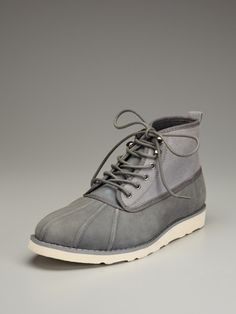 Suede Duck Boot