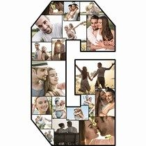 This Photo Letter G will feature a collage of your very own photos! Use Photo Letters to accent your table at graduation parties, weddings and more. Graduation Party Planning, Graduation Parties, Letter Standee, Photo Cutout, Photo Cubes, Photo Letters, Party Central, Letter G, Outdoor Banners