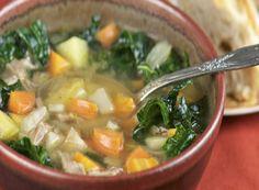 Sopa de Repolho com Legumes.