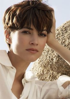 Best Bob Hairstyles & Haircuts for Women - Hairstyles Trends Permed Hairstyles, Summer Hairstyles, Tomboy Hairstyles, Really Short Hairstyles, Very Short Haircuts, Trending Hairstyles, Cut My Hair, New Hair, Vog Coiffure