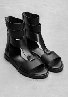 Multi-Ankle-Strap Sandal