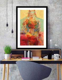 """La Mujer y los Elementos"", Numbered Edition Fine Art Print by Fernando Vieira - From $25.00 - Curioos"