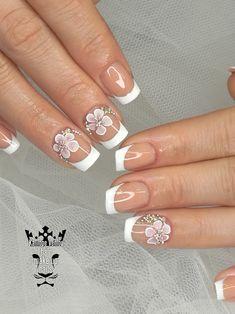 Bridal nails  #nails #nailart #frenchnails #bridalnails #3dplastelineflowers #elegancenails #lovenails #nailaddict #nails2inspire #nailaholic #nothingisordinary #nailartist #marinaveniou #nailartseminars #trustthexperts #beautymakesmehappy   www.kalliopeveniou.gr