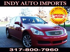 #SpecialOffer #FreeGas | $11,500 | 2008 #InfinitiG35 x AWD - for Sale in Carmel IN 46032 #IndyAutoImports