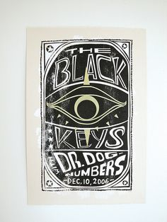 Poster Design- The Black Keys