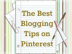 The Best Blog Tips on Pinterest