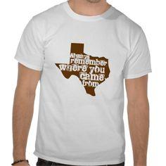 Always remember - Texas