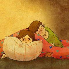 Dormir a tu lado.-