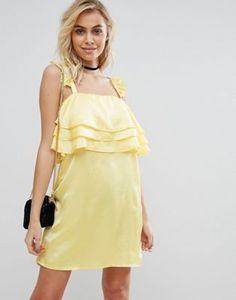 Fashion Union Dress With Frills