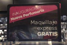 Chicas, si tenéis un Carrefour cerca de casa podéis aprovechar esta promo: Maquillaje express #gratis. ¿lo habéis probado ya?