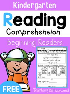 FREE Reading Comprehension For Beginning Readers4 Free Emergent Reading Comprehension and Fluency Passages.To see the full packet here:Reading Comprehension For Beginning ReadersThese reading comprehension passages are great for literacy centers, guided reading, homework and more!!These READING COMPREHENSION AND FLUENCY PASSAGES will give your students confidence in reading.*Please check out the preview for a closer look at the product*You may also be interested in:Reading Fluency and…
