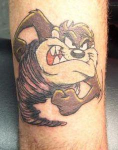 Cartoon Character Tattoos For Men 27 strengthening wrist tattoos for . Taz Tattoo, Devil Tattoo, Cartoon Character Tattoos, Cartoon Tattoos, Bull Tattoos, Leg Tattoos, Tasmanian Devil Cartoon, Donkey Drawing, Spinning