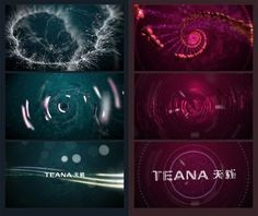 Nissan TEANA. Concepts and Motion Graphics. by Vladimir Shelest, via Behance: