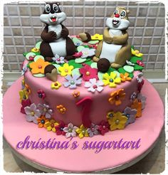 Chip and Dale cake