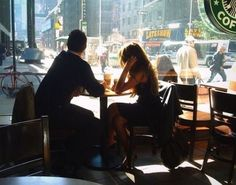 boy, coffee, couple, cute, girl....you...