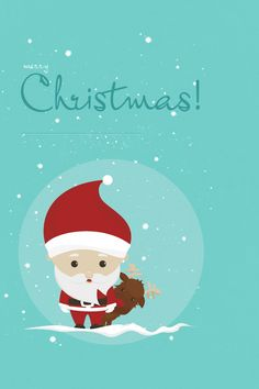 114 Best Merry Christmas Happy New Year Illustrated Cards Images