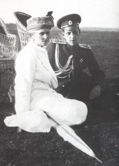 The Empress and Dmitri Pavlovich.