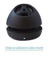 Digital Gadgets Bluetooth Pop-Up Speaker with Built-In Microphone, (Black)