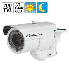 61.62$  Buy here - http://alin9d.shopchina.info/go.php?t=32798497323 - ePathChina 700TVL 2.8 ~ 12mm Varifocal Lens 36 IR LED Infrared Waterproof Security Camera + OSD Menu Effio-E Color CCD Sensor  #buyininternet