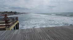 Ostia Beach - La Vecchia Pineta - August 215 (picture taken by Laura Tolomei) August 24, Sea Waves, Some Pictures, Deck, Water, Outdoor Decor, Color, Home, Ocean Waves