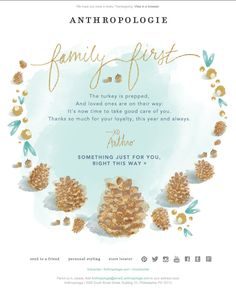 13 best thanksgiving emails images on pinterest email marketing anthropologie thanksgiving email 2014 m4hsunfo