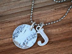 Sterling+Silver+Baseball+Softball+Necklace+with+by+sosobellatoo