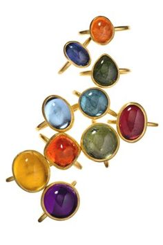 Stephanie Albertson is a New York City based jewelry designer and artist best known for her distinctive collection of handcrafted fine jewelry. Emerald Jewelry, Gemstone Jewelry, Jewelry Rings, Jewelry Box, Ring Designs, Necklace Designs, Bohemia Jewelry, Roman Jewelry, Jewelry Design Drawing