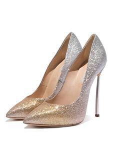 Scarpe Sposa Milanoo.Gold Platform Heels Women High Heels Sequined Peep Toe Prom Shoes