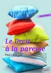 Ebook Gratuit du jour: Le Droit à la paresse, Paul Lafargue ~ Le Bouquinovore