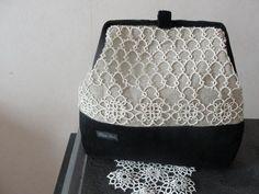 Pretty tatted handbag.  TRBUXPFHczs.jpg 604×453 pixels