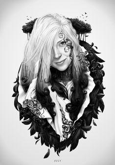 Alexander Fedosov © - Portrait of a girl