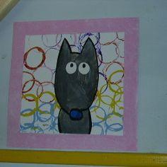 Animaux - lesptitsbricoleurss jimdo page! Bear Footprint, Wolf, Bear Paws, Classroom Crafts, Art Plastique, Polar Bear, Fairy Tales, Art Projects, Kids Rugs