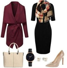 Skirt Outfits For Work Winter Capsule Wardrobe 34 Trendy Ideas - Winter Work Outfits Stylish Winter Outfits, Winter Outfits For Work, Cool Outfits, Casual Outfits, Capsule Wardrobe Women, Work Wardrobe, Work Fashion, Fashion Outfits, Womens Fashion