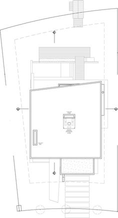 DLC House / Vanguarda Architects (planta de techos)