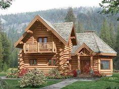 """CASA#13 Para las personas que disfrutan con los planos de cabañas y les maravilla la idea de vivir relajados y """"siempre de vacaciones"""" en el campo, ..."""
