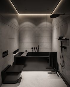 Home Room Design, Dream Home Design, Modern House Design, Dream House Interior, Luxury Homes Dream Houses, Black Interior Design, Bathroom Design Inspiration, Black Rooms, Bathroom Design Luxury