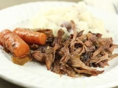 French Onion Pot Roast - PACKED with flavor! an easy dinner recipe