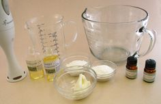 Goat's milk lotion from scratch...in your own kitchen