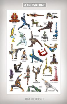 YOGA SUPER POP  Super Collected Edition 1 and 2  by RobOsborne, $35.00