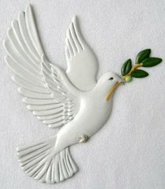 Dove | Ornament | Hand-Painted Gifts | Decor