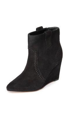 97ceccf2aaf7 REBECCA MINKOFF Bianca Wedge Booties.  rebeccaminkoff  shoes  boots Bootie  Boots