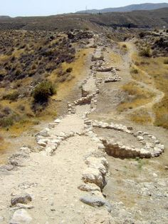 Los Millares - copper age settlement   *** photo by Robert Bovington   http://www.panoramio.com/user/2391258