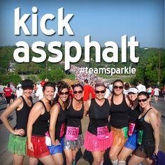kick assphalt yay #teamsparkle