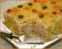 Bolo Salgado Vegetariano | Tortas e bolos > Receitas de Bolo Salgado | Receitas Gshow
