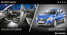 Stylish exteriors and luxurious interiors for you to enjoy an ultimate driving experience. #SCross