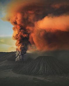 Scary Awesomeness ~ Mount Bromo in Indonesia                                                                                                                                                                                 More