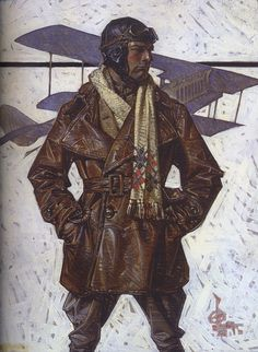 Aces High, Joseph Christian Leyendecker, 1917